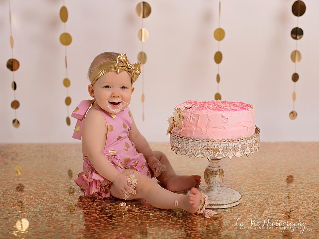 Cake Smash Portraits-Houston, Tx