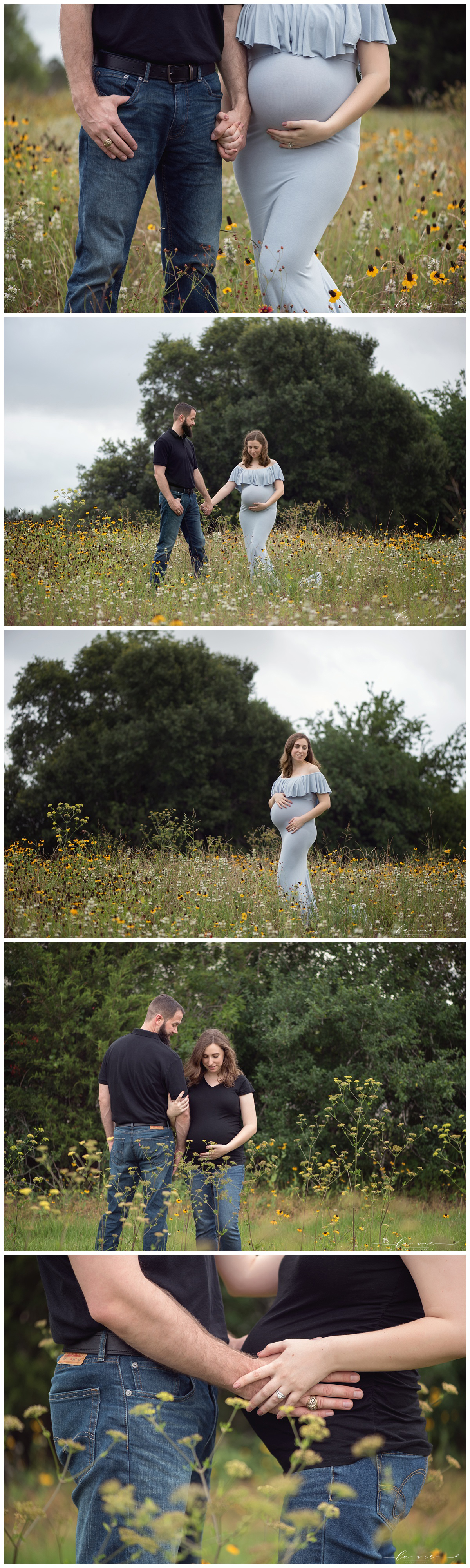 Houston Luxury Studio Maternity Photographer