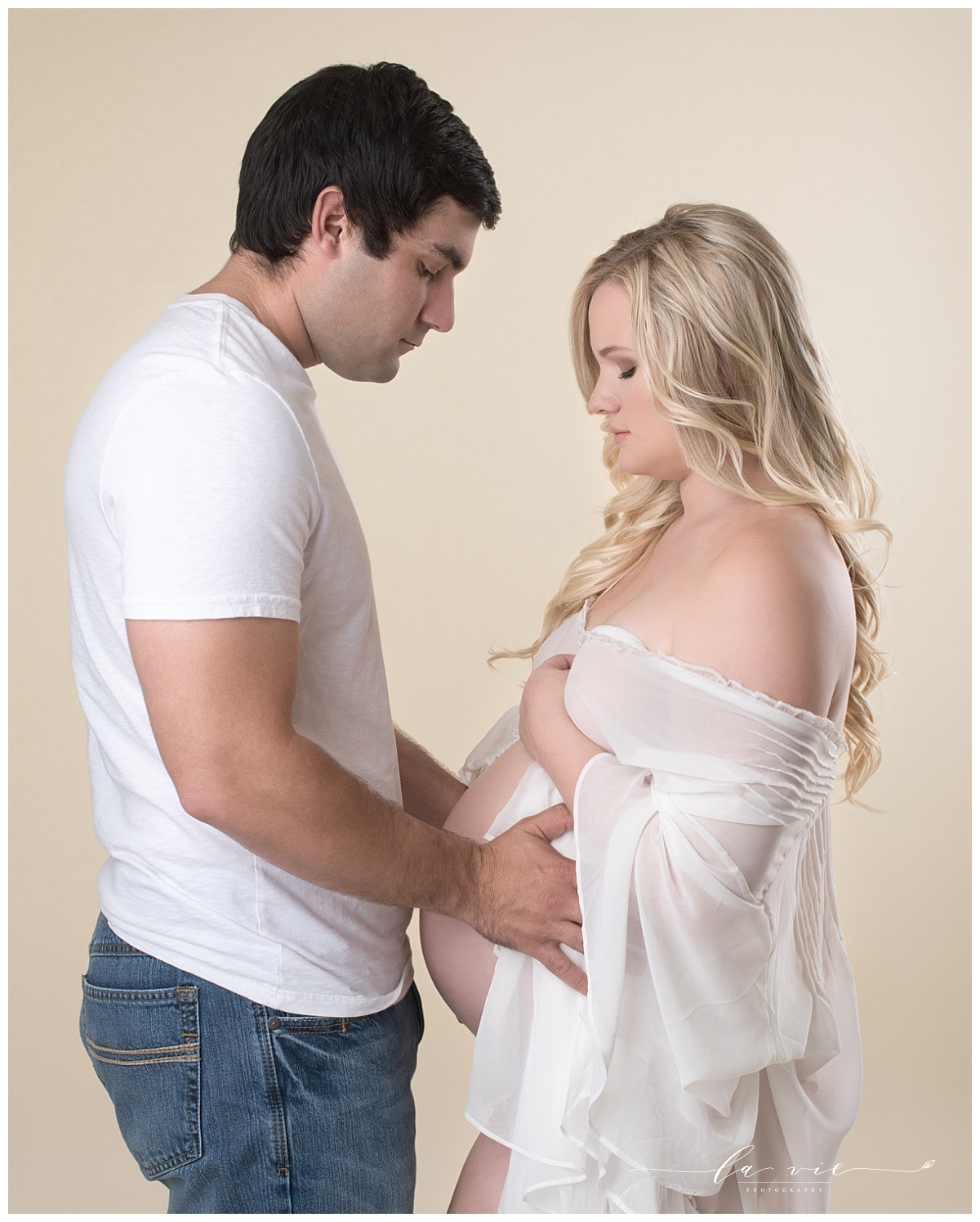 maternity couples portrait